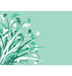 Foliage design vector