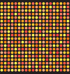 polka dot pattern seamless circle background vector image