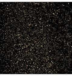 Gold glitter texture square vector