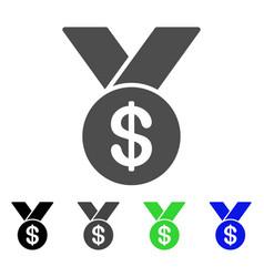 Bestseller medal flat icon vector