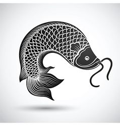 Chinese fish3 vector