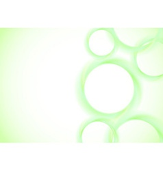 Abstract vivid rings background vector image vector image