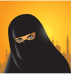 Arabian woman vector