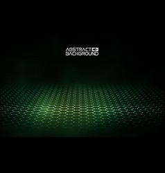 futuristic hexagon futuristic vector image