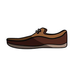 shoe for men vector image vector image