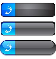 Telephone button set vector