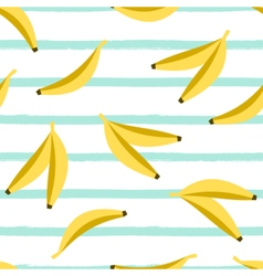 Seamless bananas pattern vector