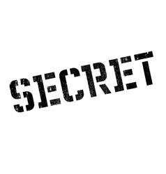 Secret rubber stamp vector