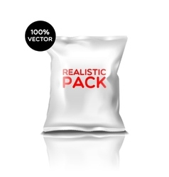 Realistic pack isolated icon vector