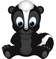 Cute skunk vector