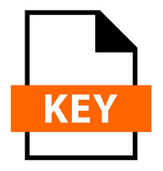 File name extension key type vector