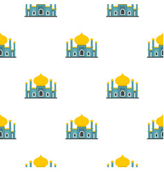 Muslim mosque pattern flat vector