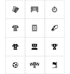 Icon Soccer vector image