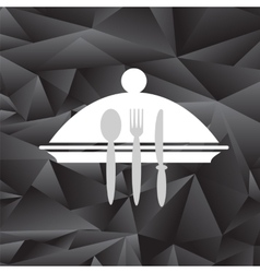 Symbol of restaurant vector