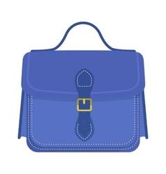 Businessman holding work briefcase vector image