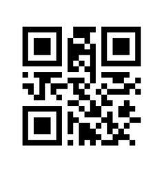 Promotional qr code - black friday ready to use vector