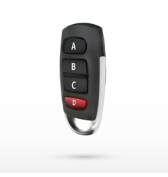 Universal 4 Buttons Cloning 433mhz Electric Garage vector image