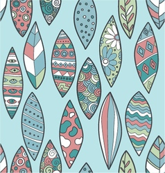 Pattern leaves vector