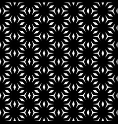 Abstract monochrome geometric texture mosaic vector