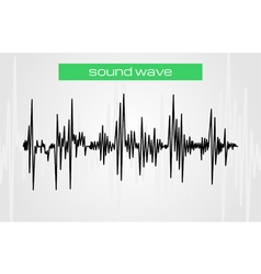 sound waves 4 vector image vector image