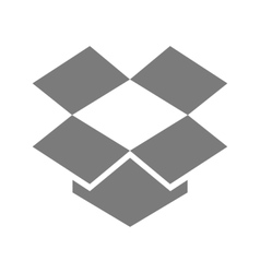Dropbox vector image