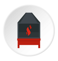 blacksmith icon circle vector image