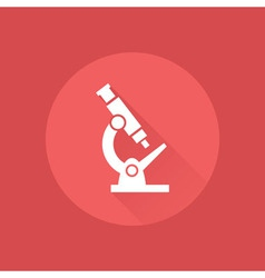 Microscope icon vector