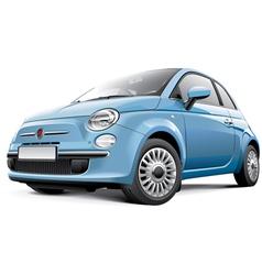Italian city car vector image