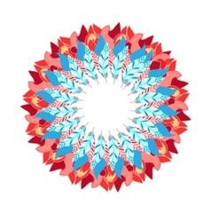 Abstract wreath vector