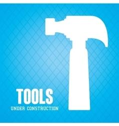 Hammer construction tool vector