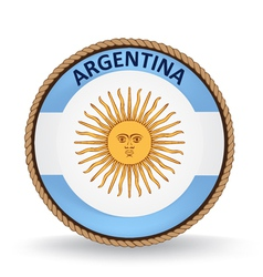 Argentina Seal vector image vector image