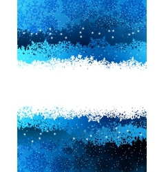 Christmas blue background EPS 8 vector image vector image