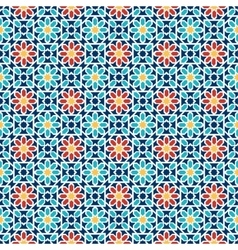 Islamic seamless pattern arabian geometric vector
