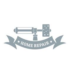 repair spray logo simple gray style vector image
