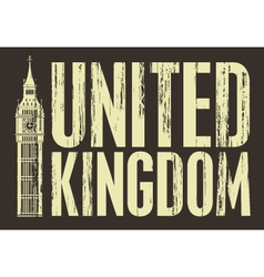 United kingdom vector
