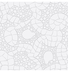 Gray knitted seamless pattern vector