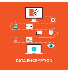 Data encryption vector