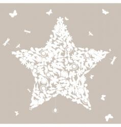 natural star vector image