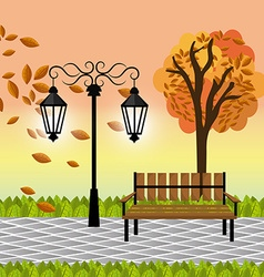 Green park design vector