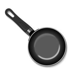 a frying pan vector image