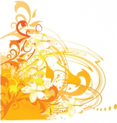 artistic nature vector image vector image
