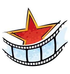 Cinema symbol vector image