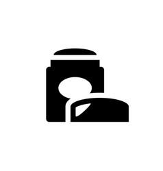 Dry deodorant icon vector