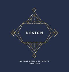 Modern geometric framework for text of gold vector