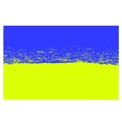 National flag of ukraine vector