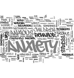 Anxiety dont feel alone everyone experience it vector