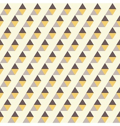Retro pattern of geometric shapes vector