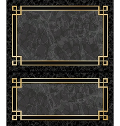 Marble Frames vector image