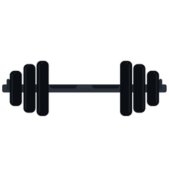 weight barbell trainer player icon vector image
