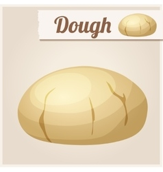 Dough detailed icon vector